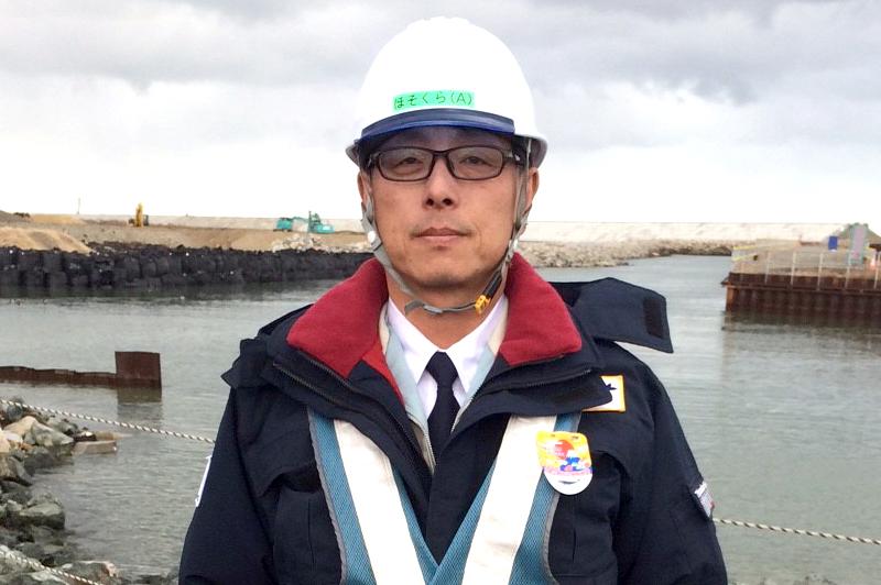 1級土木施工管理技士の細倉さん