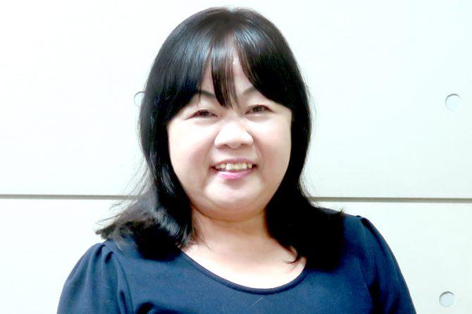 AutoCADオペレーターの加藤美絵子さん