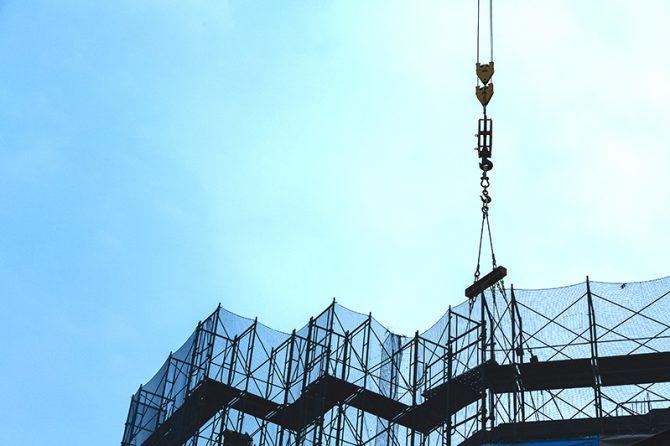新築マンション工事で「PC床版(スパンクリート)の施工時間」を短縮した方法