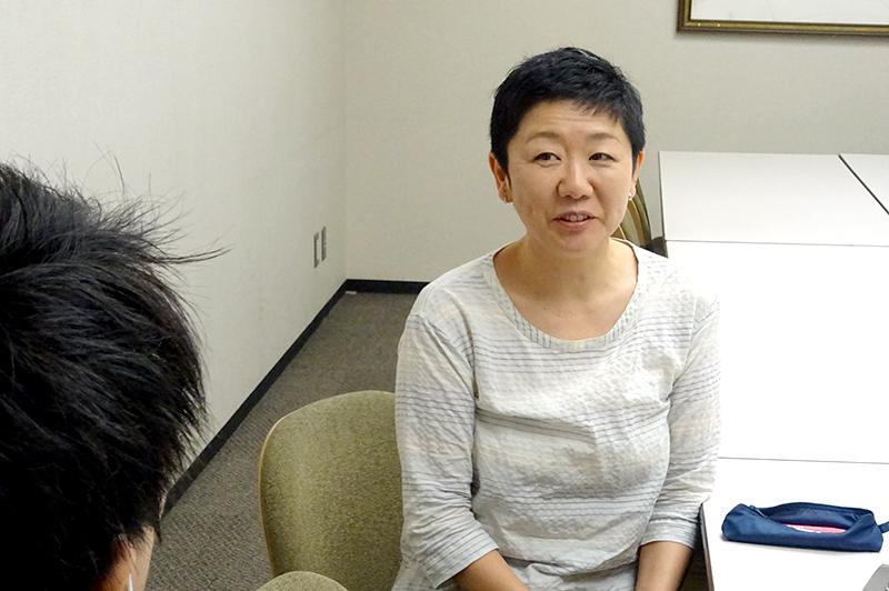 東京工業大学 研究員、土木学会ダイバーシティ推進委員会 前・幹事長、土木技術者女性の会 運営委員の山田菊子さん