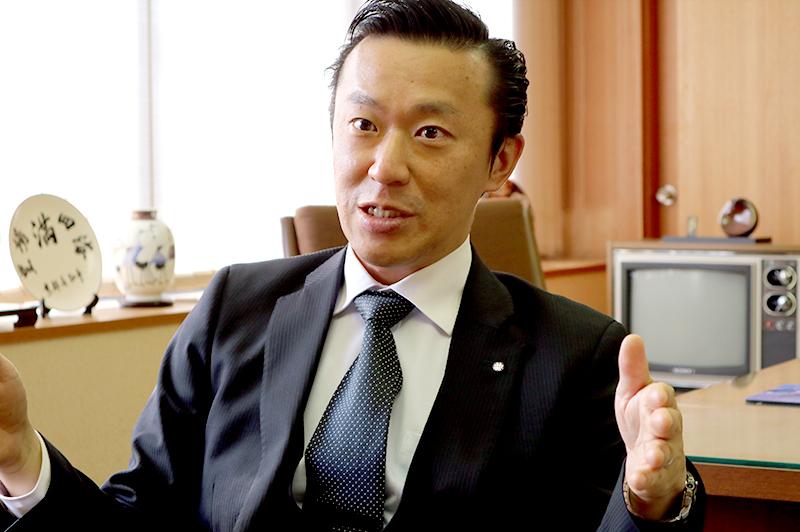 西田工業株式会社 西田吉宏・代表取締役副社長・大阪本店長
