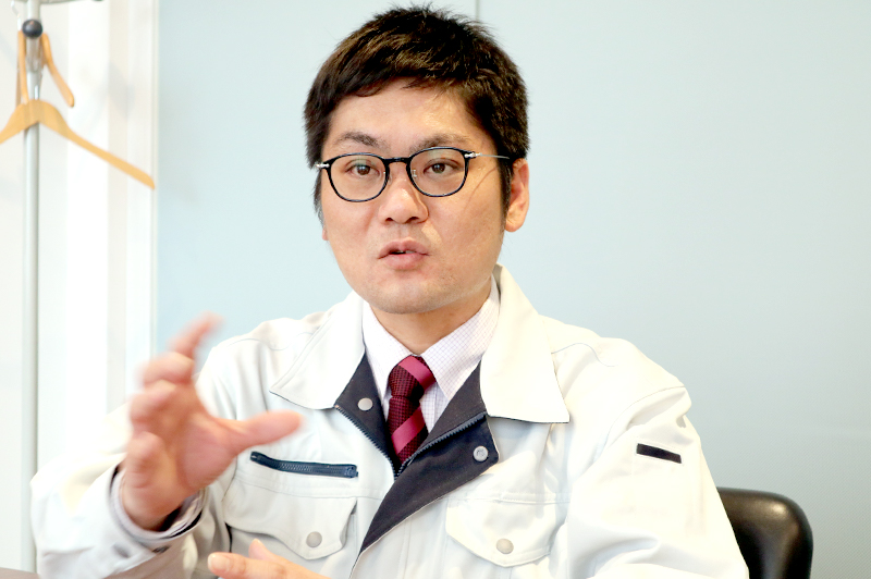三和建設株式会社 大阪本店営業グループ主事の弘瀬敏博さん