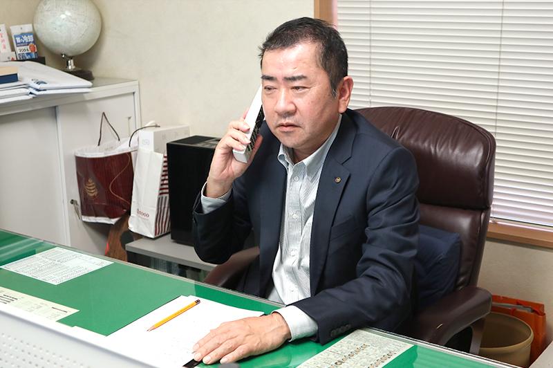 福井孝典 / 株式会社福井組 代表取締役社長