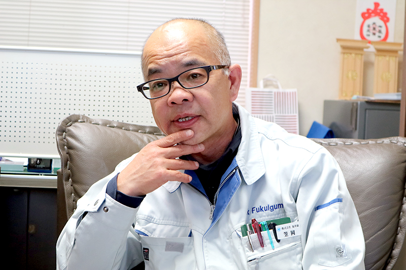 笠岡義明 / 株式会社福井組 常務取締役