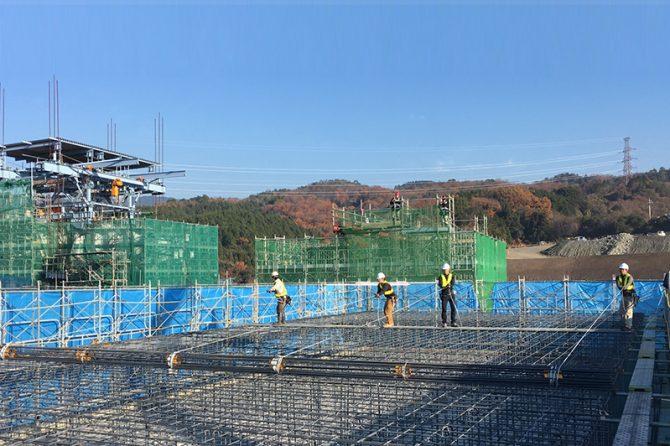 鹿島建設がヨーロッパで普及している工法を進化させ、「配筋時間を半分」にした新技術とは?