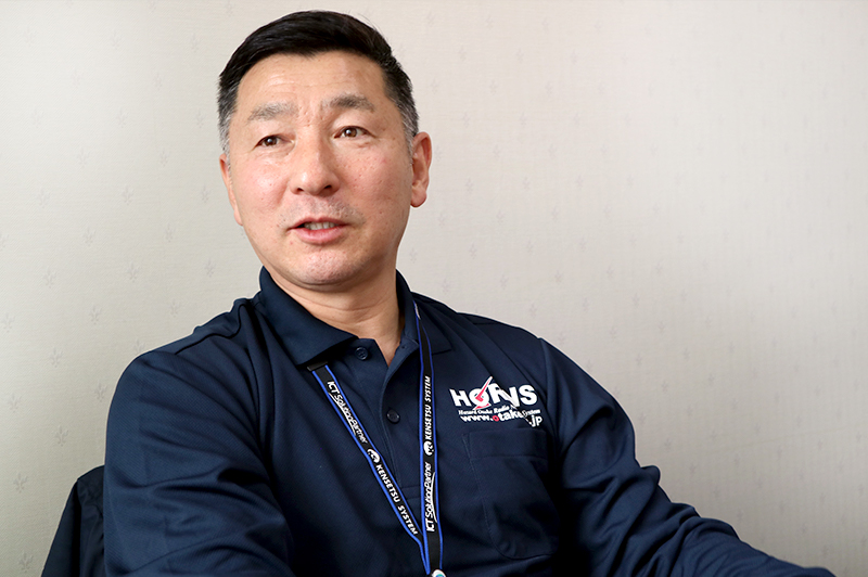 ソフトウエア開発している、株式会社建設システム常務取締役・建設ICT研究部長 土屋義彦さん