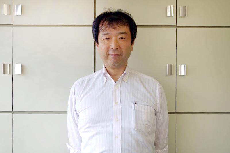 上代悟史代表取締役。大学卒業後、中堅ゼネコンに入社、技術研究所と耐震研究室に在籍。Uターン後、家業を継いだ。