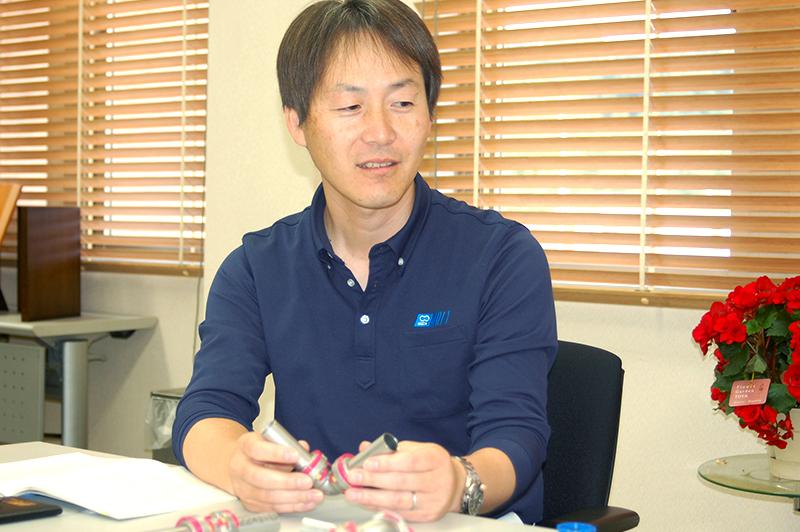 東尾メック株式会社 開発担当 福山潤さん
