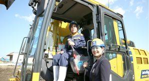 コマツICT建機の未来を切り開く女性「エミーとモリ—」。コマツIoTセンタって何?