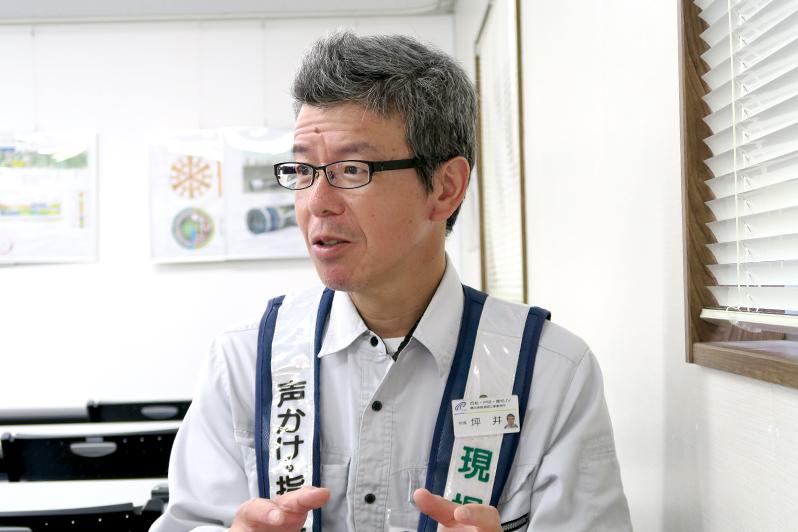 坪井広美氏(西松建設 横浜湘南道路工事事務所 所長)