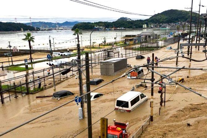 西日本豪雨の被災地は、8月7日現在も悲惨な状況。