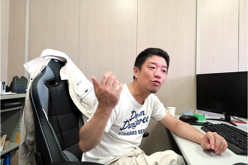 正治組 土木部部長 大矢洋平氏