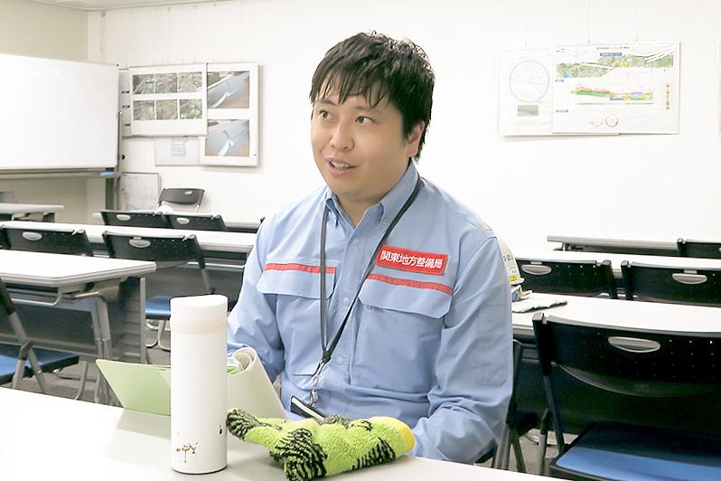 原田駿平氏(国土交通省関東地方整備局 横浜国道事務所 計画課長)