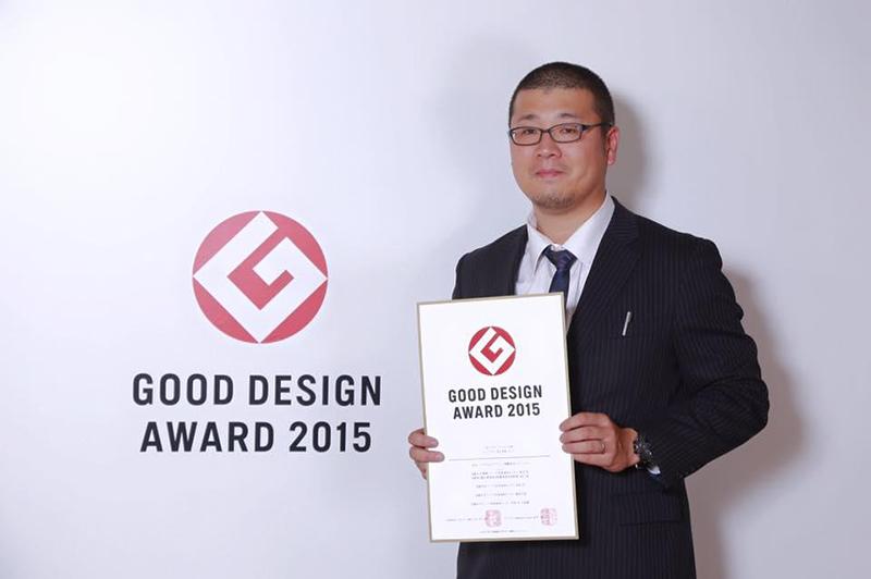 軍艦島3Dデータでグッドデザイン賞を受賞した出水さん。
