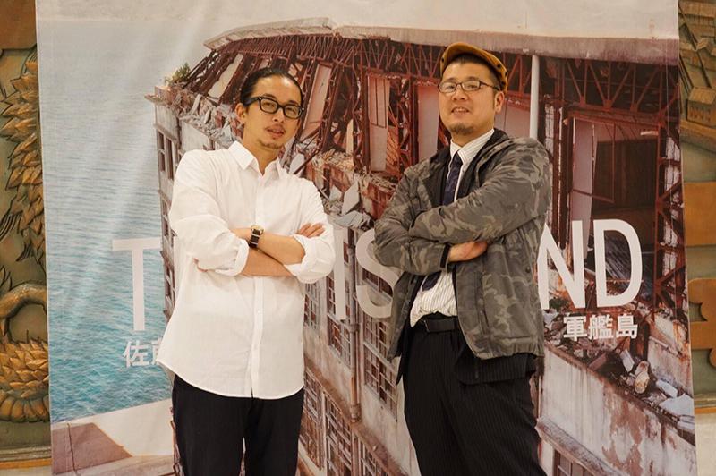 軍艦島写真集「THEISLAND」の撮影などでコラボした写真家の佐藤健寿さん。