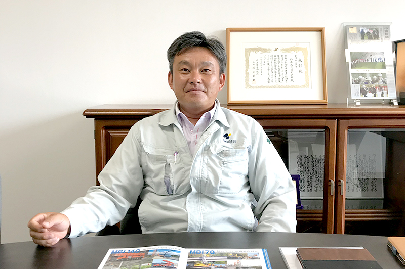 格正建設株式会社 BM事業部メンテナンス課 前土井寛之部長