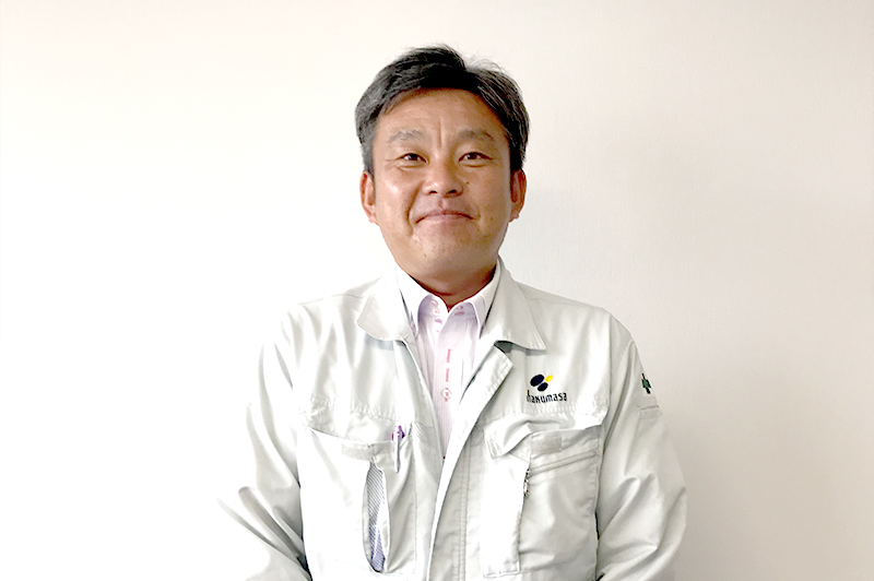 前土井寛之部長は昭和52年生まれの41歳。広島工業大学土木学部卒。