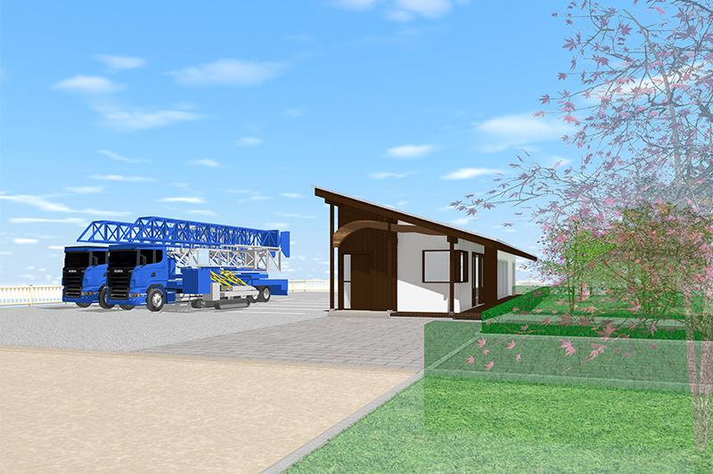 格正建設 BM事業部の新拠点のイメージ