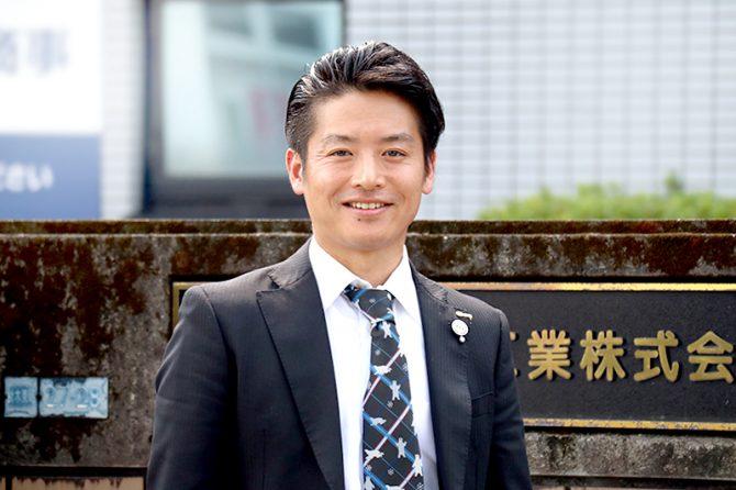 ミタニ建設工業株式会社 代表取締役社長 三谷剛平氏