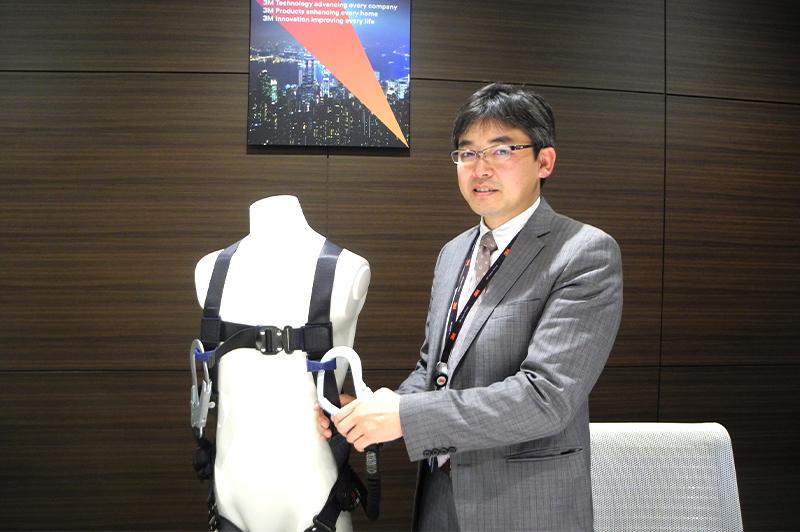 スリーエム ジャパン株式会社 安全衛生製品事業部 事業部長の中辻陽平氏