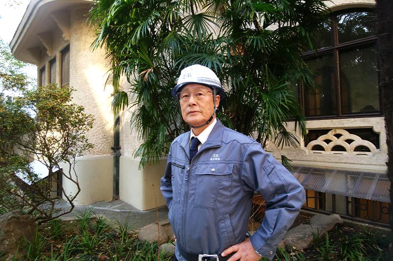 76歳現役、竹中工務店の元総括作業所長が語る「名作建築の現場」(前編)