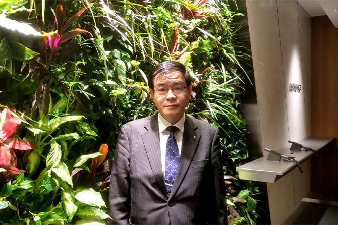 鴻池ビルテクノの大林愼二取締役社長