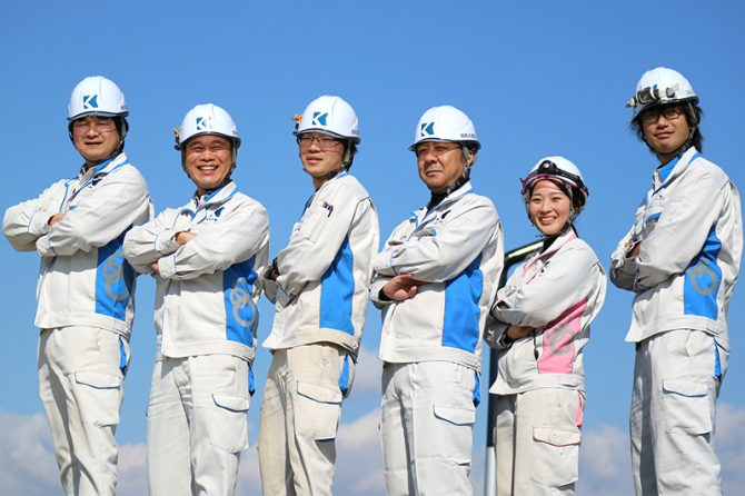 加和太建設 建築部・土木部の技術者たち