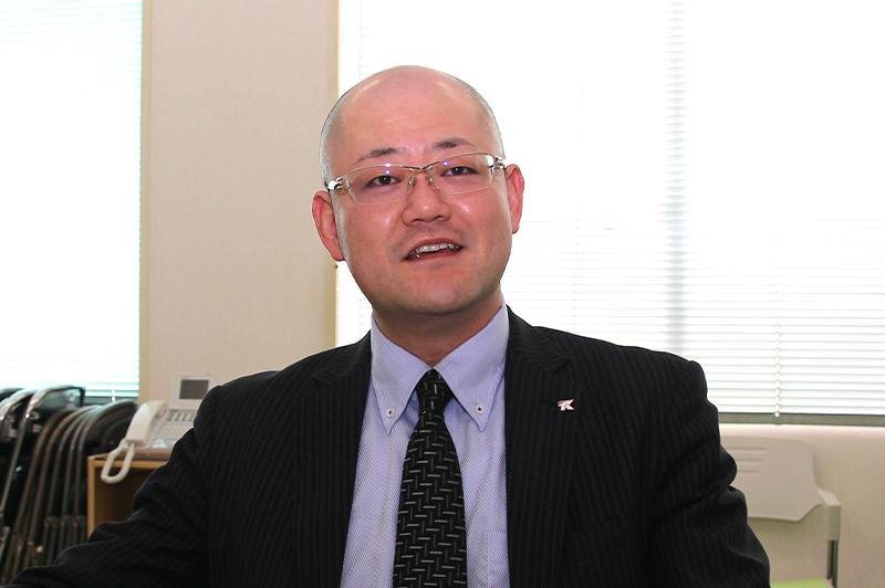 八代地区生コンクリート協同組合の理事長で(株)髙野組の髙野晋介専務