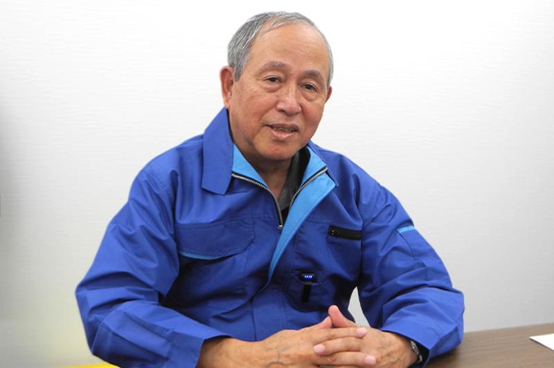 株式会社空調服 代表取締役会長 市ヶ谷弘司氏