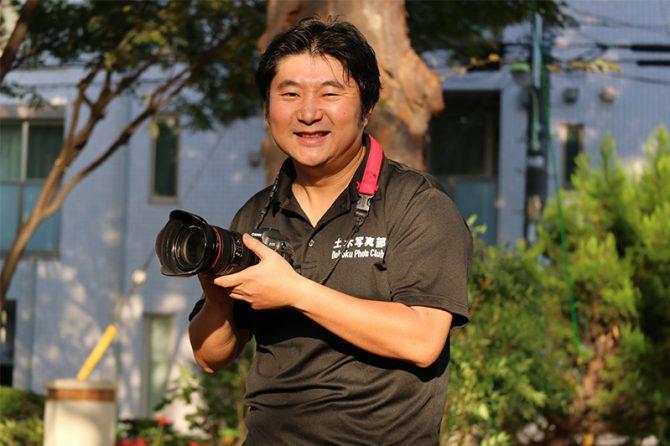 「橋梁写真家」を名乗る依田正広さん