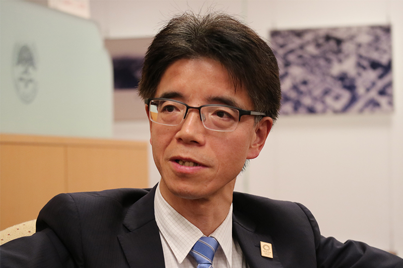 見坂茂範氏(福岡県県土整備部長・国土交通省から出向)