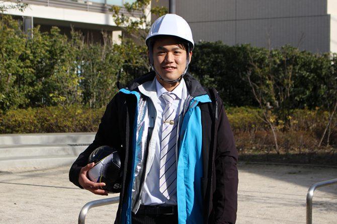 未経験から現場監督として奮闘する、新藤舜輝(みつき)さん