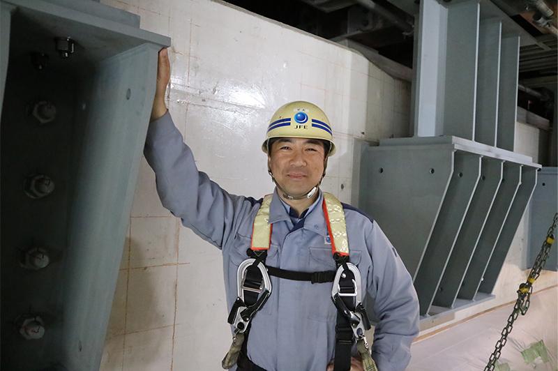瀬尾 高宏さん(JFEエンジニアリング株式会社 社会インフラ本部 橋梁事業部 改築プロジェクト部 プロジェクト推進室長)