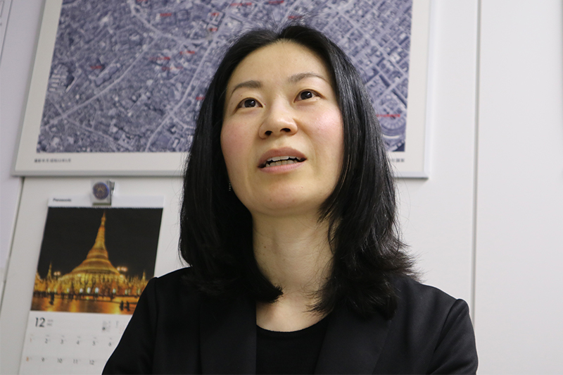 青木 麻実子さん(首都高技術株式会社 企画部事業推進課 課長代理)