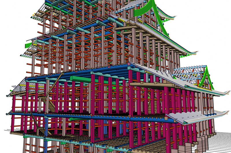 「なんとしても完成させる」 名古屋城天守閣木造復元に挑む竹中工務店