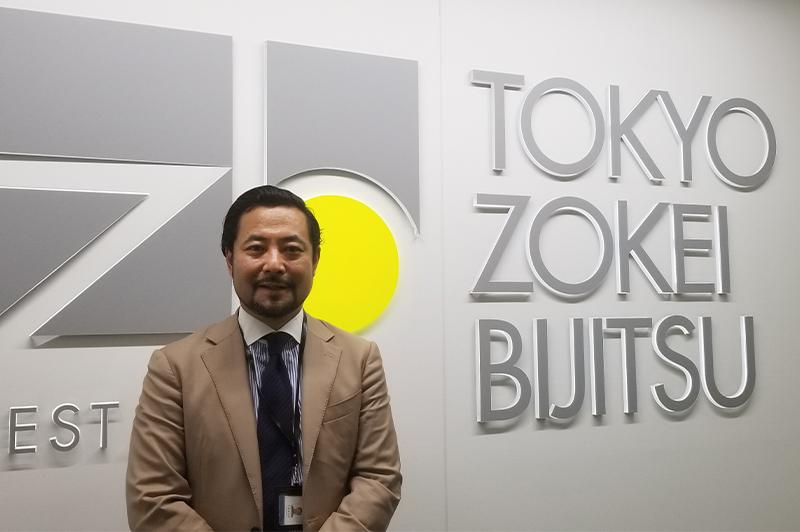 石森隆太郎氏(東京造形美術株式会社 代表取締役社長)