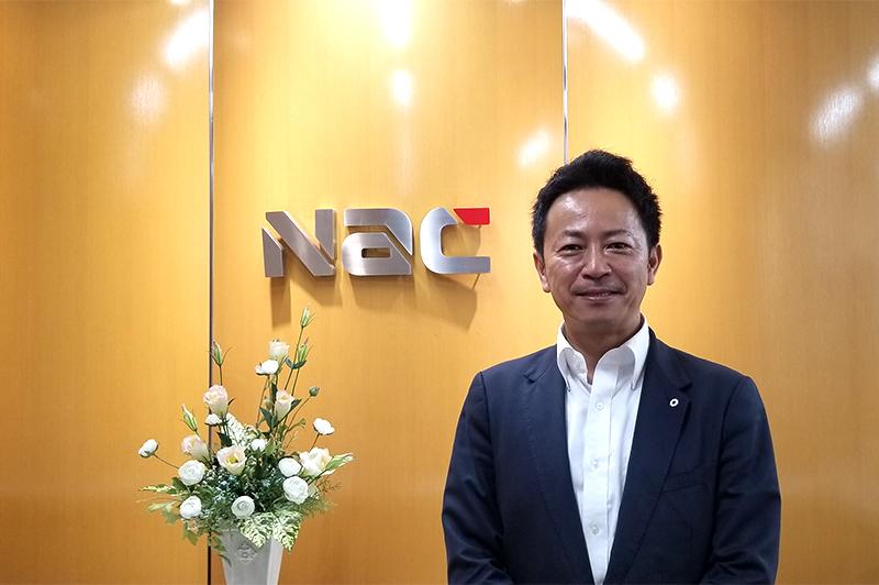 株式会社ナックの大場 直樹氏