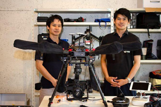 SkyLink Japanの上原さん(左)と山内さん
