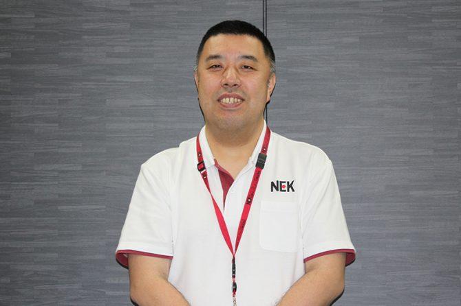 墨 正則さん(日本エンジニアリング株式会社保全技術室長)