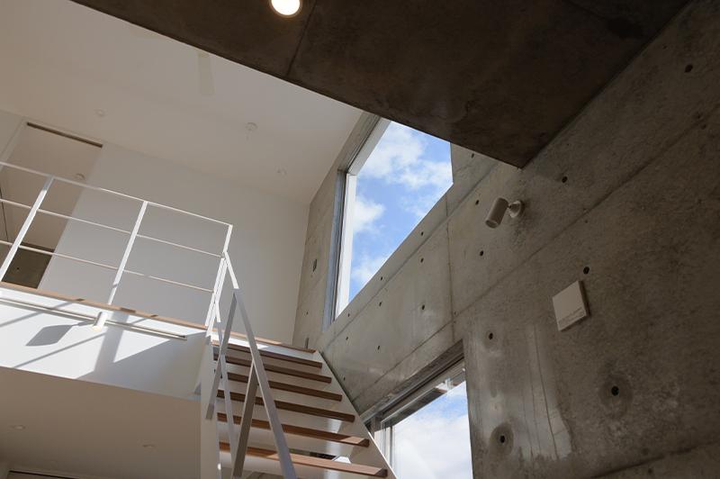 サンオリエントが手掛けたRC造住宅の内部