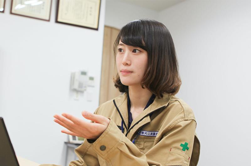 「猪突猛進型」が私の長所。山形の測量設計事務所でICT化を担う若き女性技術者