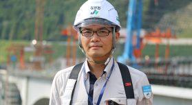 【新阿蘇大橋】大成建設の現場代理人が語る施工管理のコツとは?