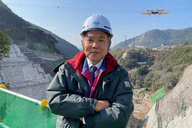 国土交通省九州地方整備局立野ダム工事事務所長 阿部 成二さん