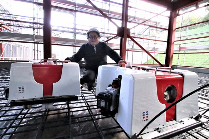 続々と進化する建設現場用協働型ロボット「トモロボシリーズ」