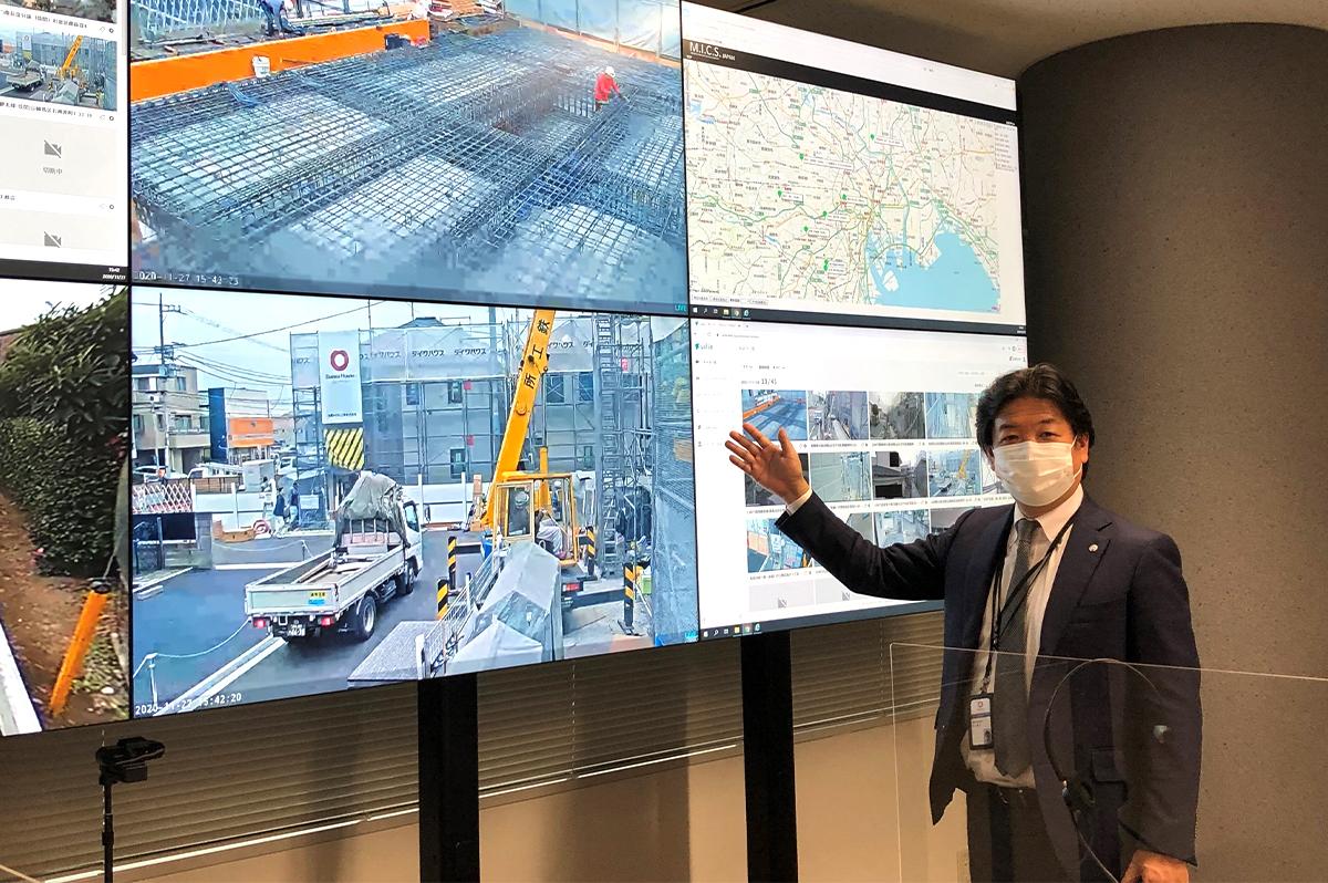 大和ハウス工業 技術統括本部建設デジタル推進部DC推進1グループの林健人グループ長