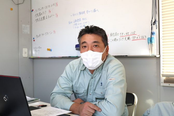 徳倉建設株式会社の林亨さん