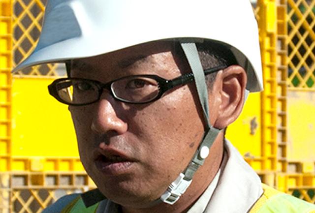 現場を円満に、工事を円滑に。岡田崇さん