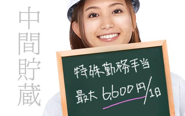 【長期安定・特殊勤務手当あり】中間貯蔵工事の求人