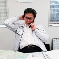 新開 康博(コーディネート業務責任者)